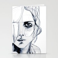 Sketch V Stationery Cards