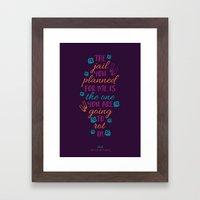 The Color Purple's Celie Framed Art Print