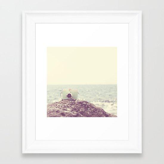 the dreamer ... Framed Art Print