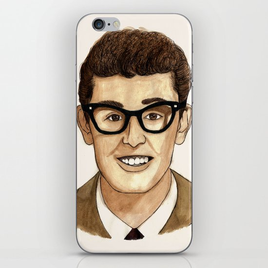 Buddy Holly iPhone & iPod Skin