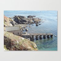 Lifeboat Station, Cornwa… Canvas Print