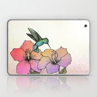 Hummingbird and Hibiscus Laptop & iPad Skin