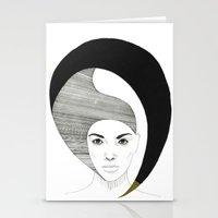 Fashion Illustration 4  Stationery Cards