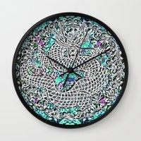 Dragon Garden Wall Clock
