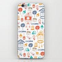 Cuckoo Pattern iPhone & iPod Skin