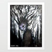Oddity: Tree Girl Art Print