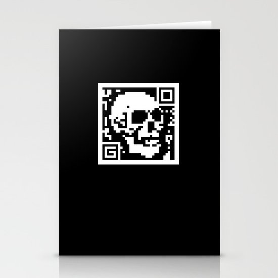QR- Dead Stationery Card