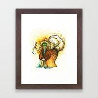 gatoelho Framed Art Print