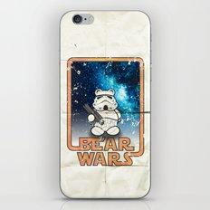 Bear Wars Vintage - Bear Trooper iPhone & iPod Skin