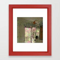 flowers overtaking Framed Art Print