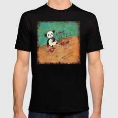 Love Bites Mens Fitted Tee Black SMALL