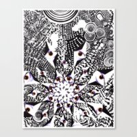 "Canvas Print featuring ""Complexity Of Nature"" by Sean Van Halen"