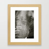 L'Éléphant Framed Art Print