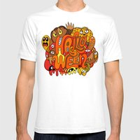 Happy Halloween! Mens Fitted Tee White SMALL