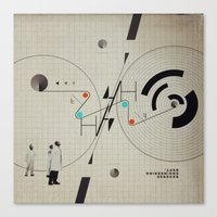 Reverse Engineering Dept… Canvas Print