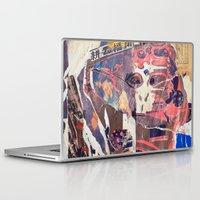 monkey Laptop & iPad Skins featuring monkey by echo3005