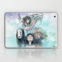 Spirited Away Watercolor… Laptop & iPad Skin