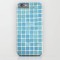 Blue tiles iPhone 6 Slim Case
