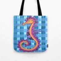 hippocampe 2x Tote Bag