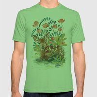 In the grass Mens Fitted Tee Grass SMALL