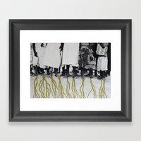 African Roots Framed Art Print
