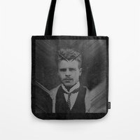 Hermann Rorschach Lines Tote Bag