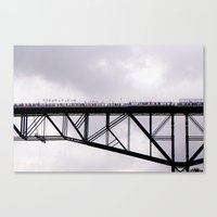 Walkway Over the Hudson, Opening Day Canvas Print