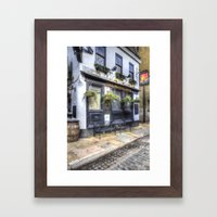 The Mayflower Pub London Framed Art Print
