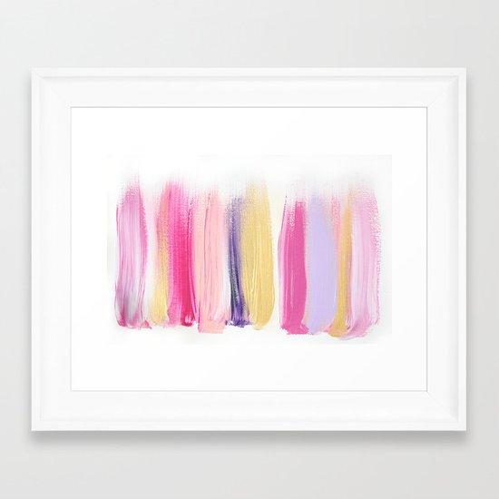 Colors 209 Framed Art Print
