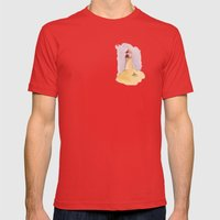 Lighthouse Impressions II Mens Fitted Tee Red SMALL