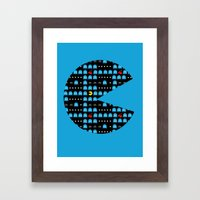 Pac Infinite Framed Art Print