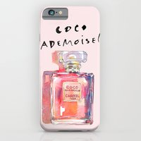 iPhone & iPod Case featuring Perfume Coco Mademoiselle Illustration by Smog