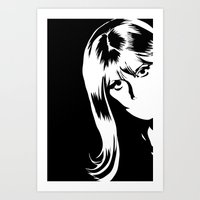 hold that pose! Art Print