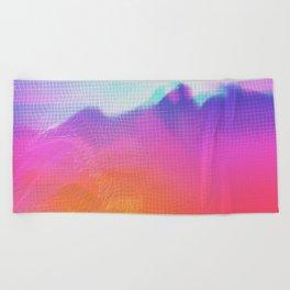 Beach Towel - Glitch 04 - Seamless