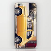 amarillo iPhone & iPod Skin