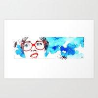 Cara De Asco Art Print