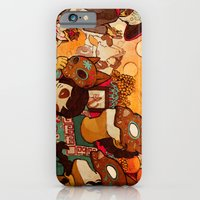 iPhone & iPod Case featuring Naguals by CKellyIllustration