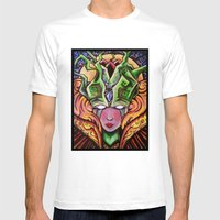 Mystical Woman Mens Fitted Tee White SMALL