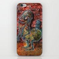 Dickbutt Gone Zombie iPhone & iPod Skin