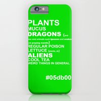iPhone & iPod Case featuring GREEN by Villaraco