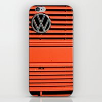 Red Volkswagen iPhone & iPod Skin