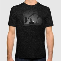 Limbo Time Mens Fitted Tee Tri-Black SMALL