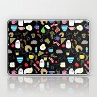 Breakfast pattern Laptop & iPad Skin