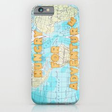 Hungry for adventure iPhone 6 Slim Case