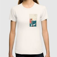 Papers Womens Fitted Tee Natural SMALL