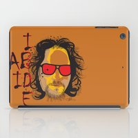 The Dude - Big Lebowski INK iPad Case