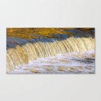 Flow Of Gold  Canvas Print
