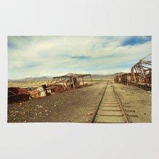 Forgotten trains Rug