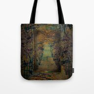 Tote Bag featuring Pine Mountain Steps Iron… by Ginkelmier