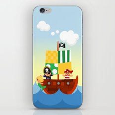 pirate ship iPhone & iPod Skin